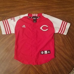 adidas Shirts & Tops - Boys Cincinnati Reds shirt